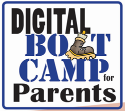 Logo for Digital Boot Camp Series for Parents