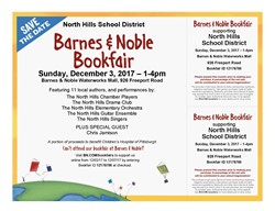 Invitation and Flyer to the NHSD Districtwide Book Fair