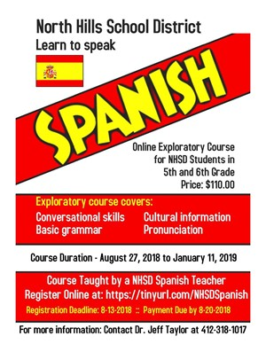 NHSD Spanish Program Logo