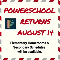 PowerSchool is Available Graphic