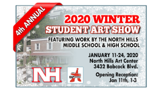 North Hills participating in 2 upcoming art shows