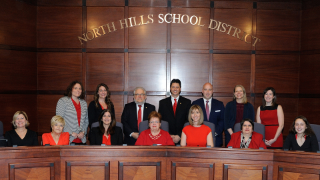 North Hills welcomes new school board members