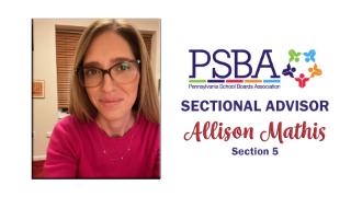 Allison Mathis appointed Pennsylvania School Board Association Sectional Advisor