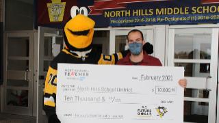 NHMS' Anthony Burns named NHL's 'Most Valuable Teacher' for January
