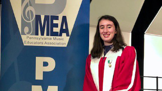 Sophomore Beth Satariano successfully auditioned to PMEA Region I Chorus.