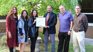 NHSD recognized for supporting mental health needs, receives 2021 Student Assistance Excellence Award