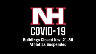 NHSD closing all buildings amid stay-at-home advisory, Virtual instruction will continue as scheduled