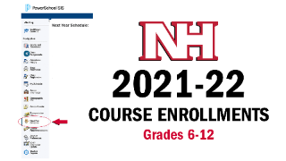 2021-22 Course Enrollments for Grades 6-12