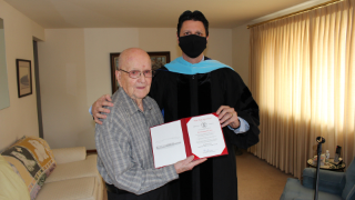 U.S. Navy WWII veteran awarded honorary diploma from West View High School