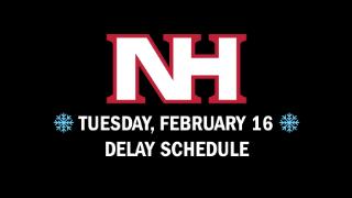 NHSD delayed Tuesday, Feb. 16