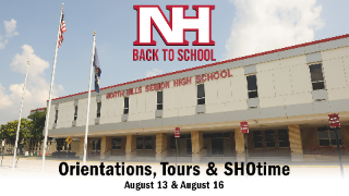Back-to-school events, orientations, tours planned Aug. 13 & 16 at North Hills High School