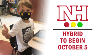 NH logo with Hybrid to begin October 5