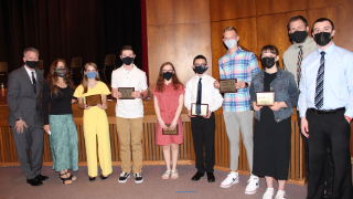 Students honored at 2021 NHEA Excellence Achievement Awards