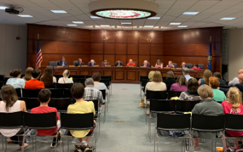 School board meeting on June 6, 2019