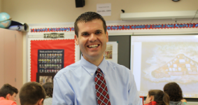 NHMS teacher Joe Welch named 2019 AMLE Educator of the Year