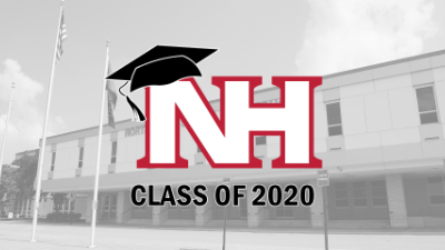 NH Class of 2020 graphic with High School