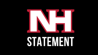 Statement regarding recent conversations about NHSD mascot