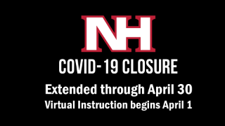 NHSD closed through at least April 30, Virtual instruction to begin April 1