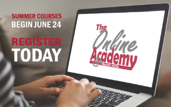 The Online Academy at North Hills graphic