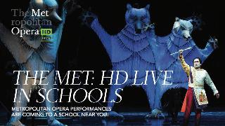 NHSD participating in Metropolitan Opera's HD Live in Schools program