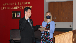 Dr. Mannarino takes oath to remain North Hills superintendent through 2026