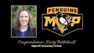Highcliff's Kristy Bilderback named Pittsburgh Penguins' Most Valuable Principal