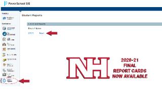 2020-21 final report cards screenshot