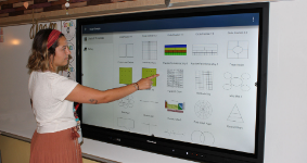 North Hills adds interactive displays to elementary classrooms