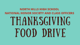 Annual Thanksgiving food drive set for Nov. 16