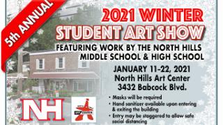 5th Annual North Hills Student Art Show runs Jan. 11-22