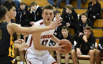 North Hills Boys Basketball player