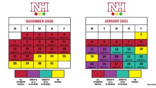 NH calendars