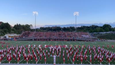 2019 North Hills Marching Band at Martorelli Stadium