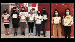 8 students receive inaugural North Hills High School #NHproud Award