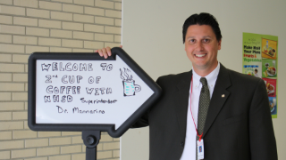 NHSD families, community members invited to Second Cup of Coffee with Dr. Mannarino