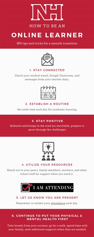 Infographic: Be An Online Learner