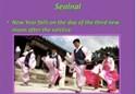 A powerpoint explores Korean holidays.