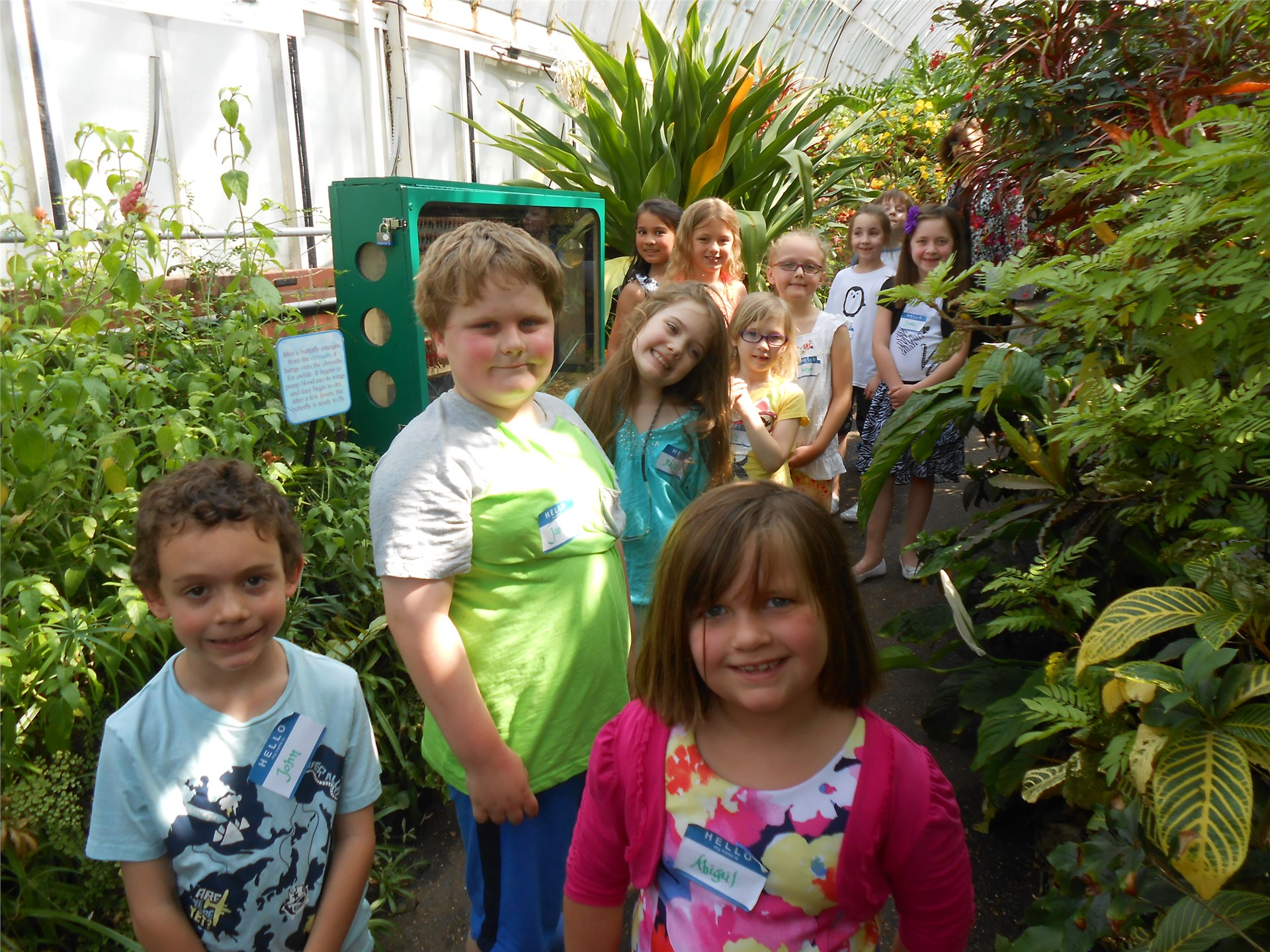Students visit Phipps and Cathedral of Learning