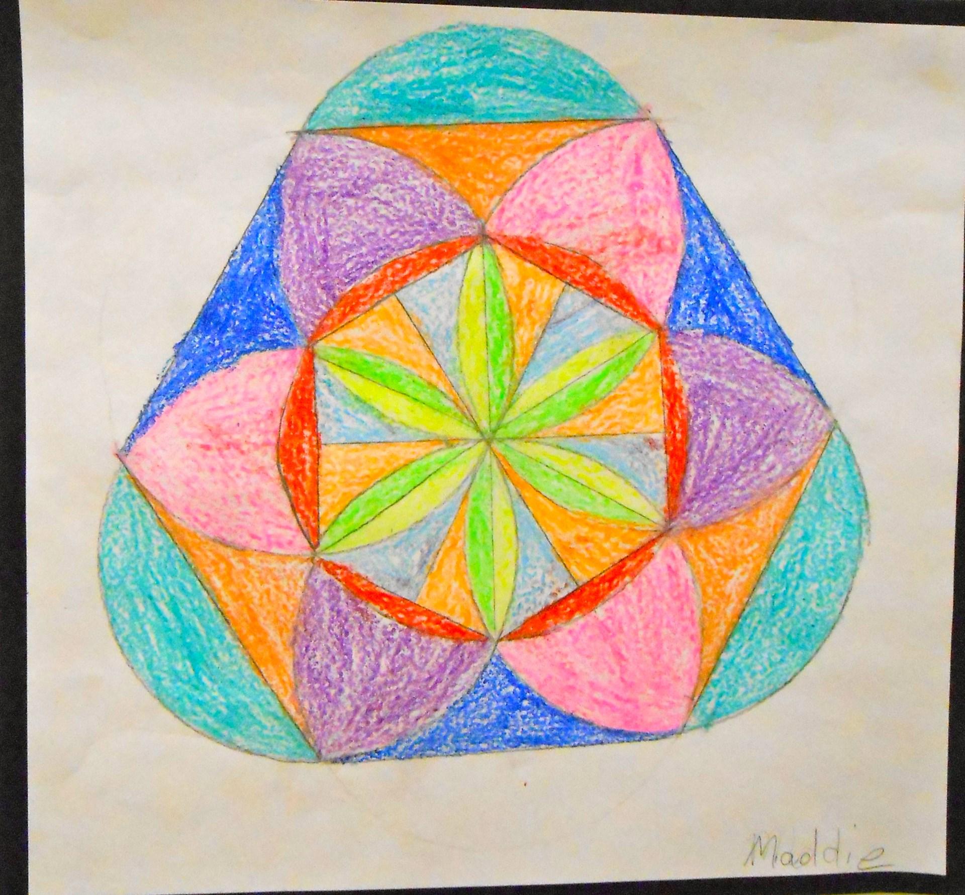 "Examples of geometric ""Islamic"" art"