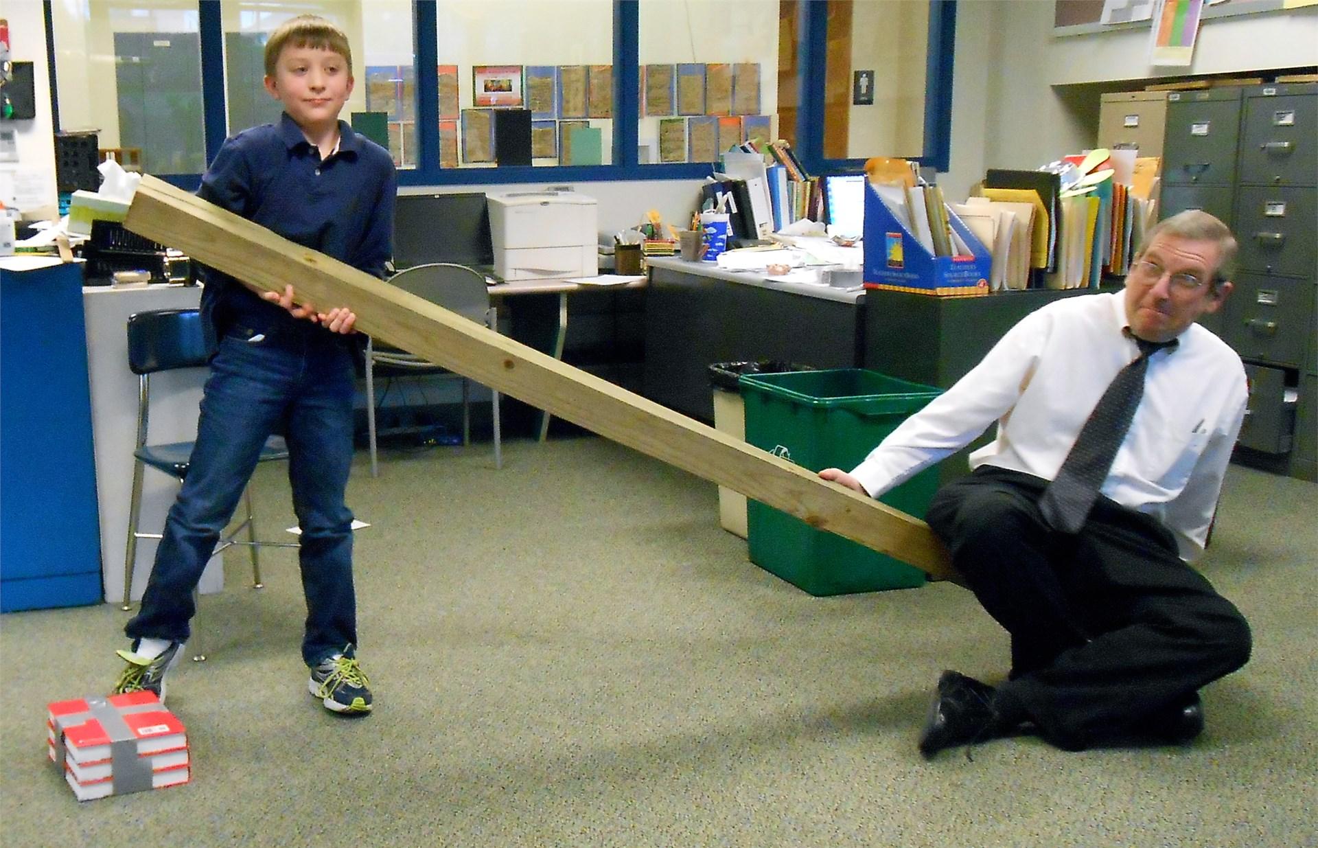 Lifting the teacher