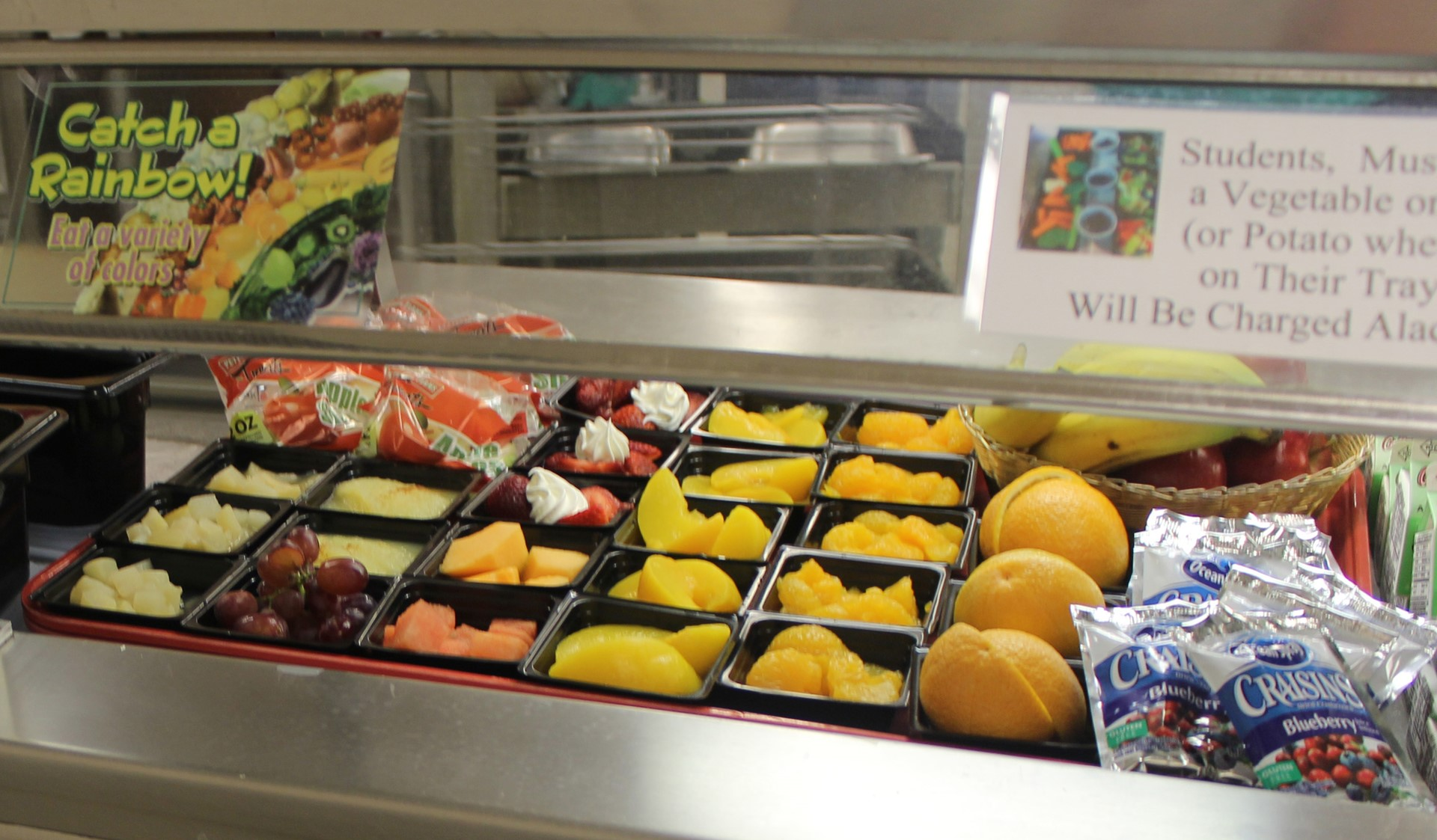 Fruit Options for Students at Lunch