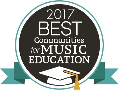 2017 Best Communities for Music Education Logo