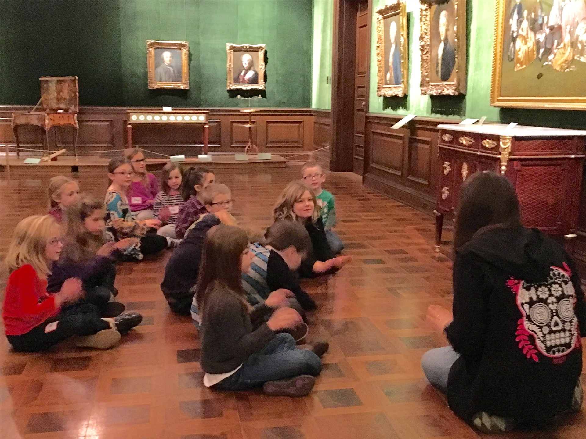 Visiting the Frick Art Museum