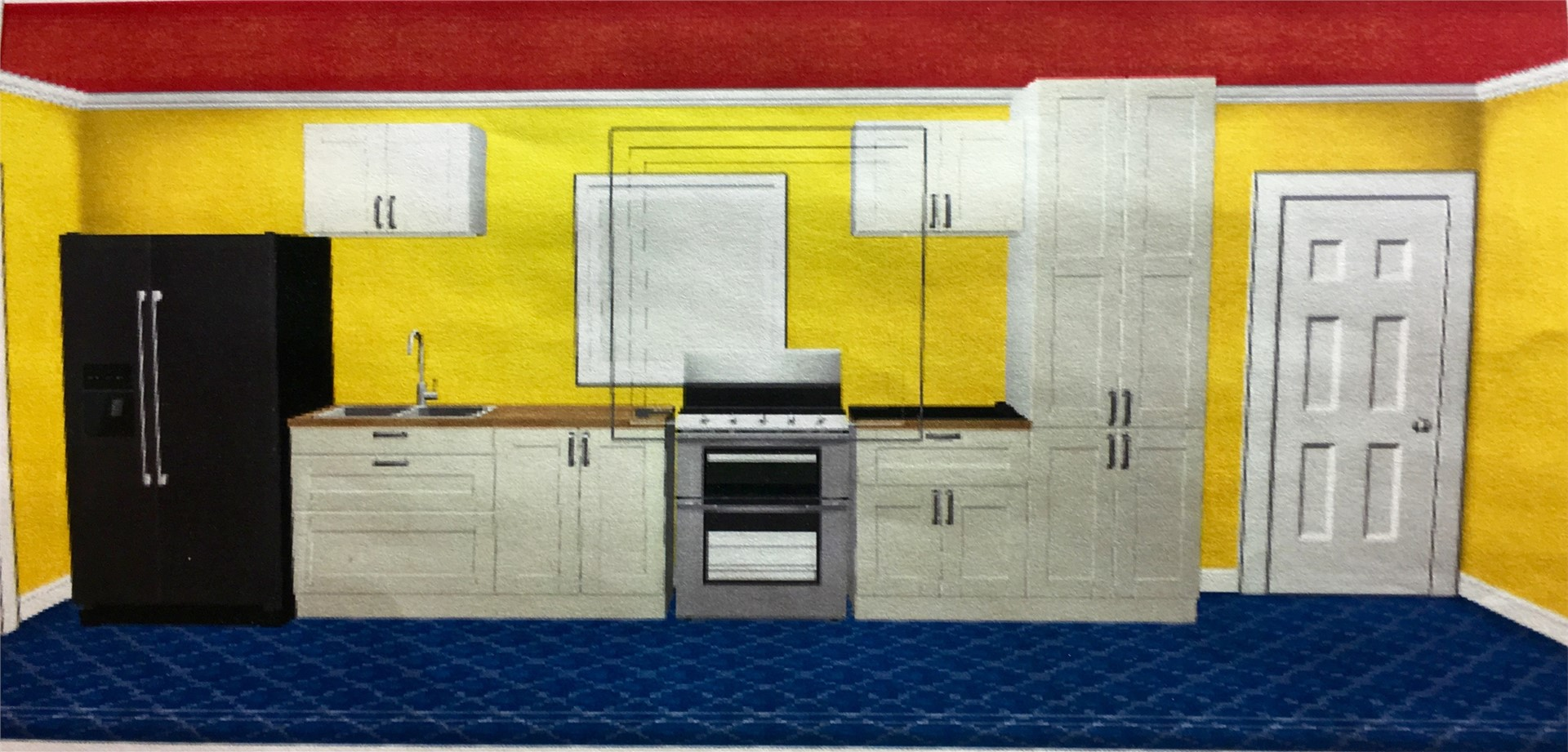 CADD-assisted kitchen design
