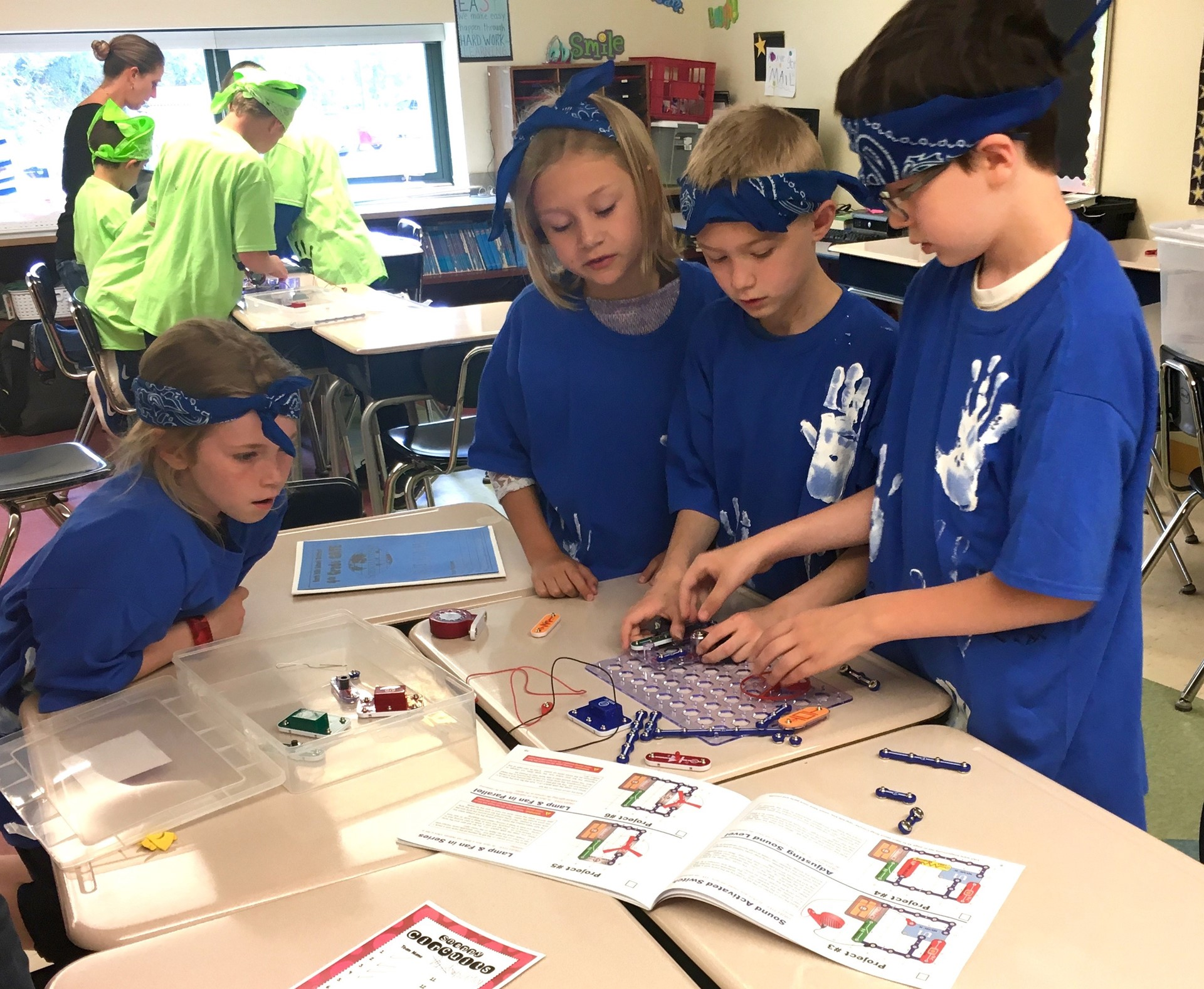 Science Olympiad group activities