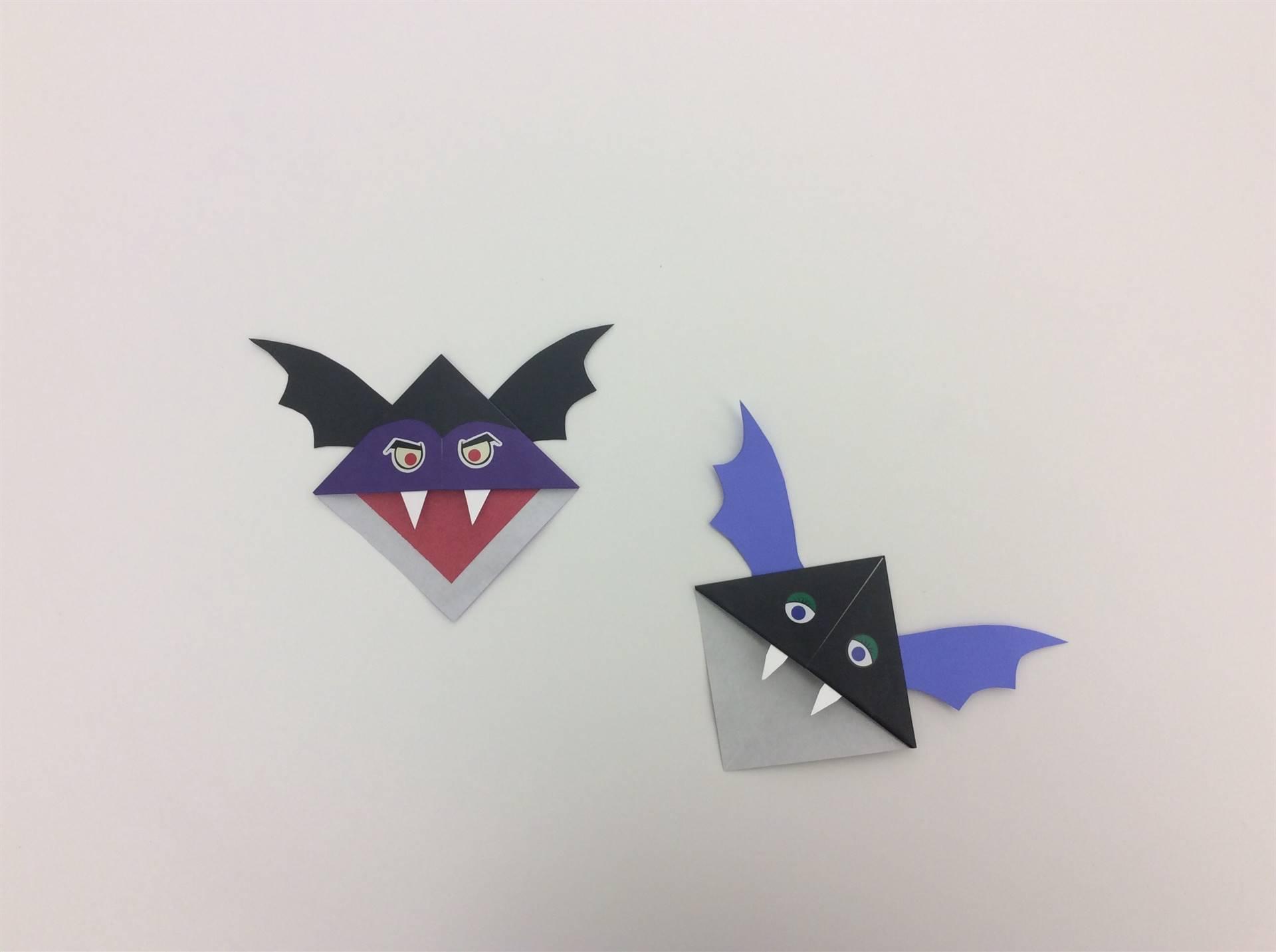 Spooky Bookmark Designs