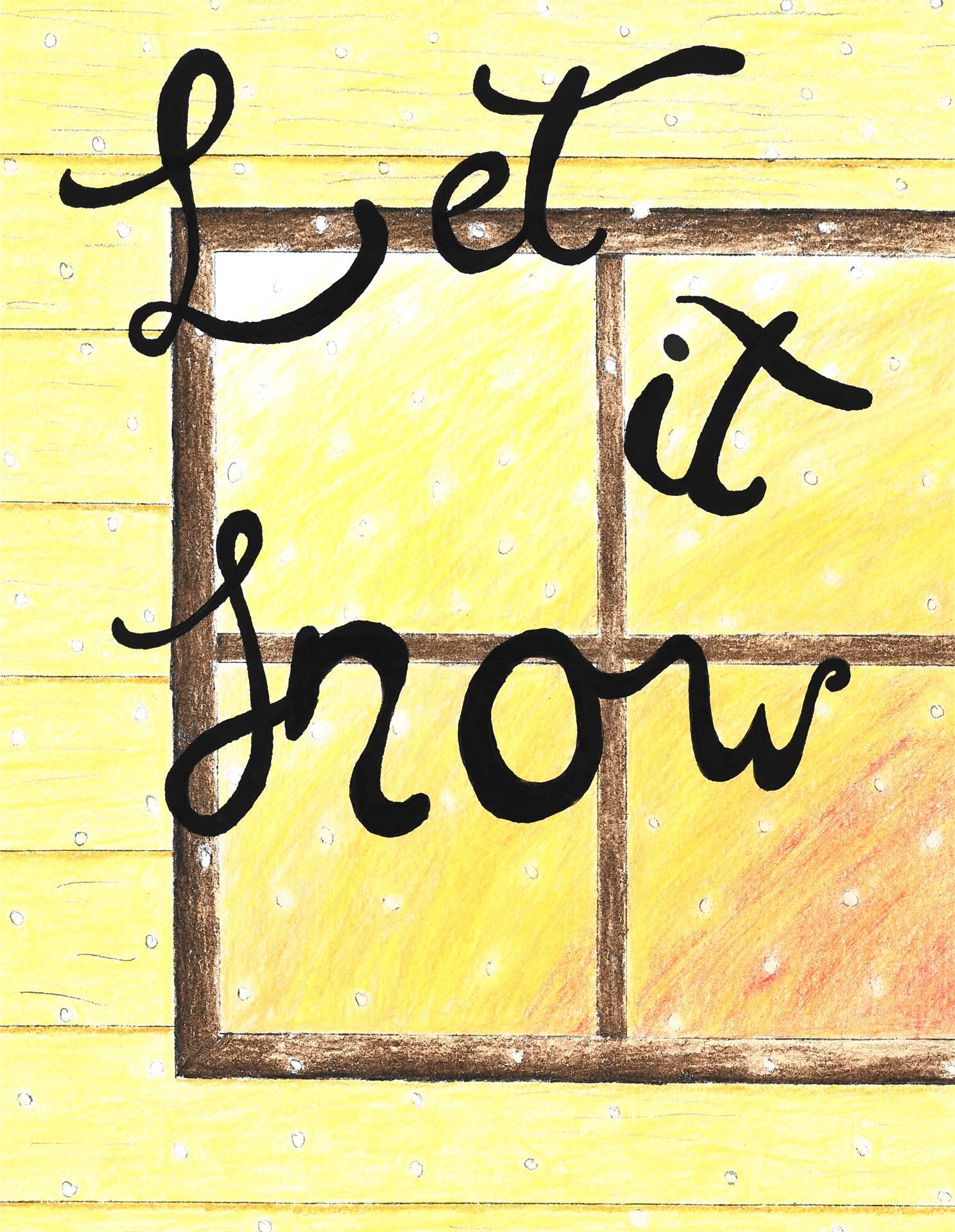 Winter Window Art