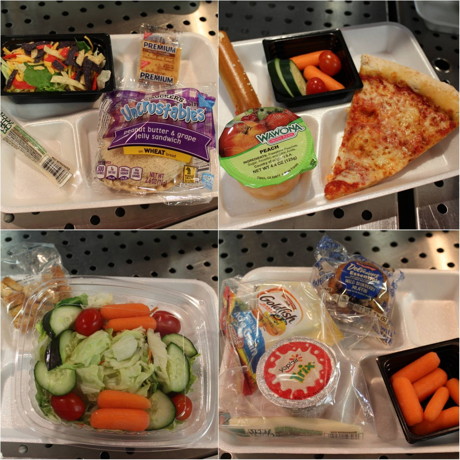 Meatless Monday Entree Options in NHSD Cafeterias