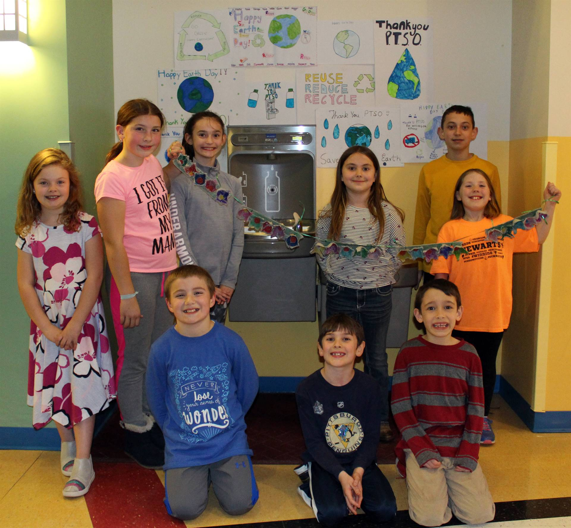 Ribbon Cutting of Water Bottle Refilling Station