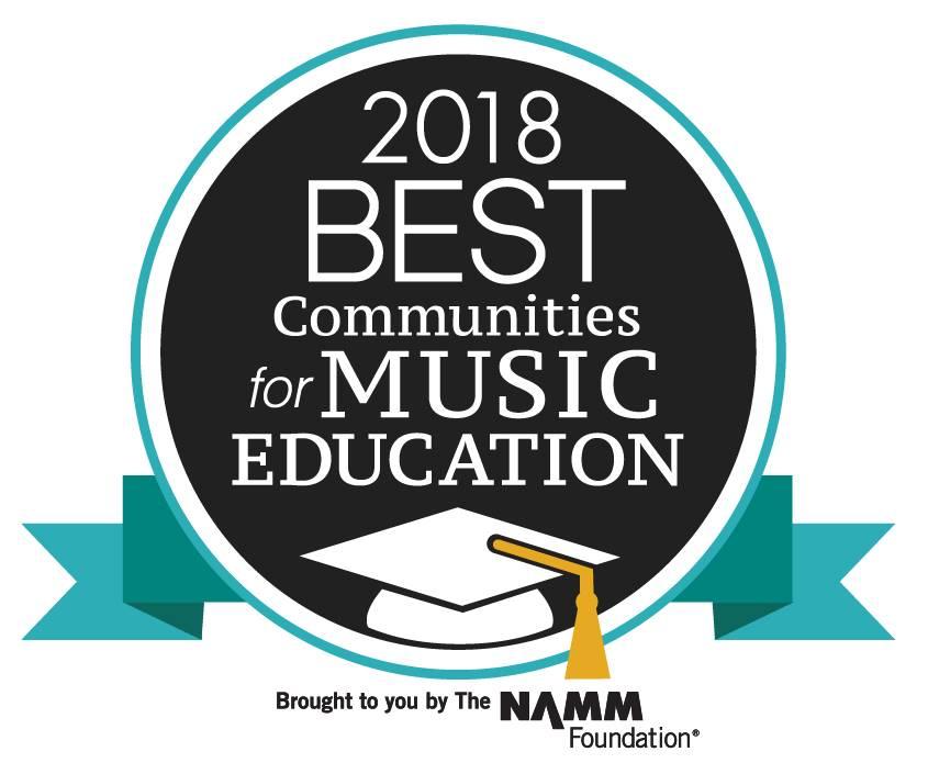 2018 Best Communities for Music Education Logo